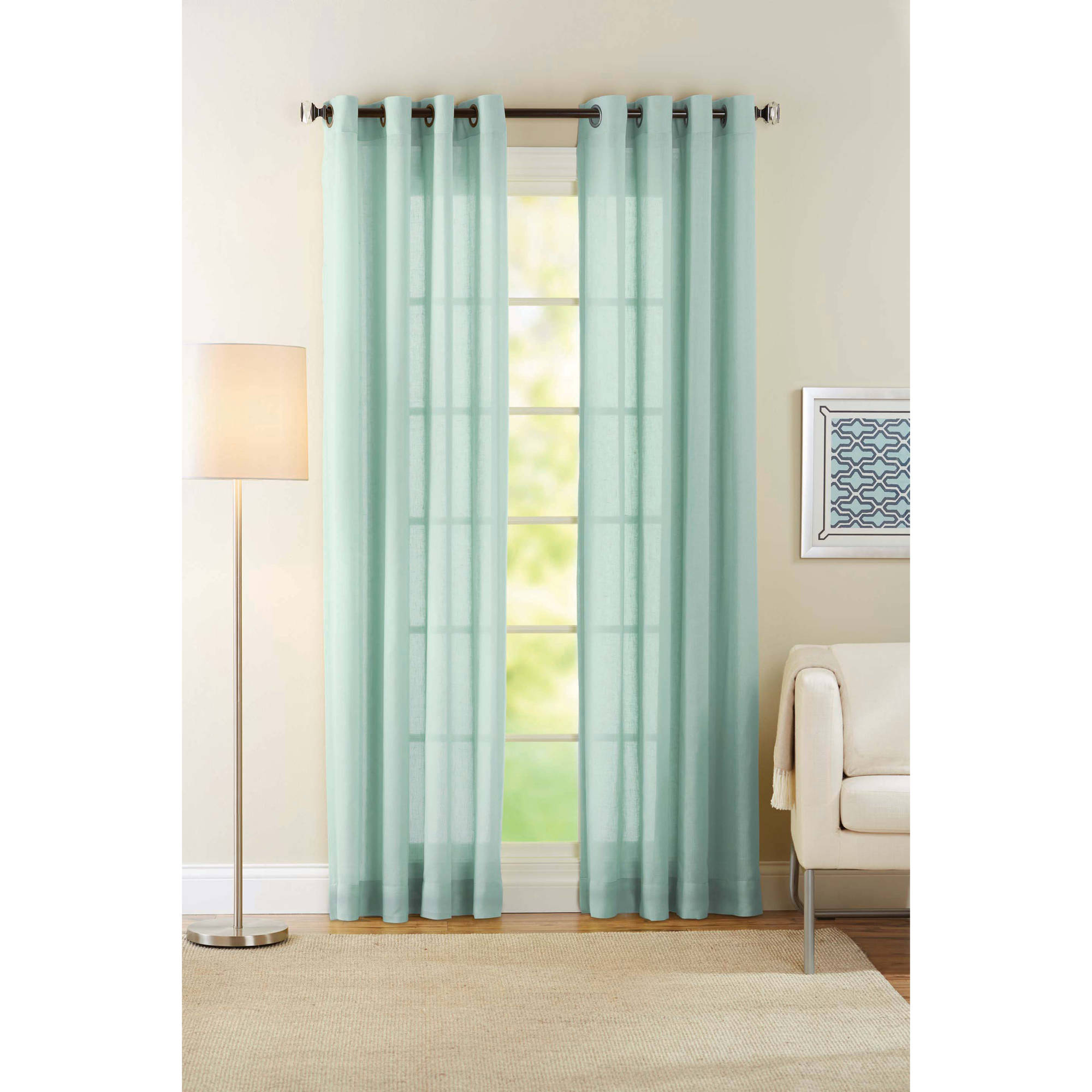 Sheer curtains- perfect for any window