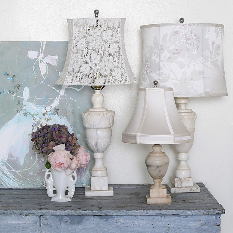 Compact Lamps shabby chic home decor