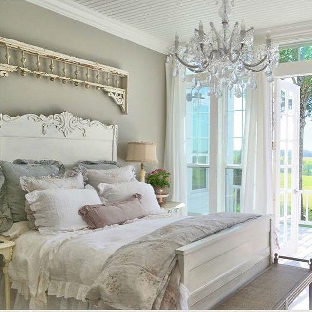 Awesome Master Bedroom At The Farmhouse CupolaRidge FarmhouseBedroom FarmhouseDecorating Shabby