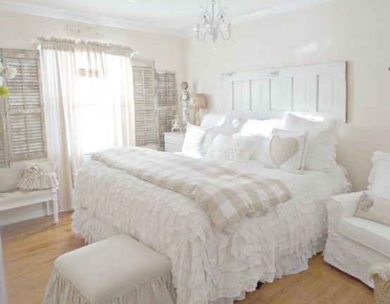 Simple 33 Sweet Shabby Chic Bedroom Décor Ideas | DigsDigs shabby chic bedroom