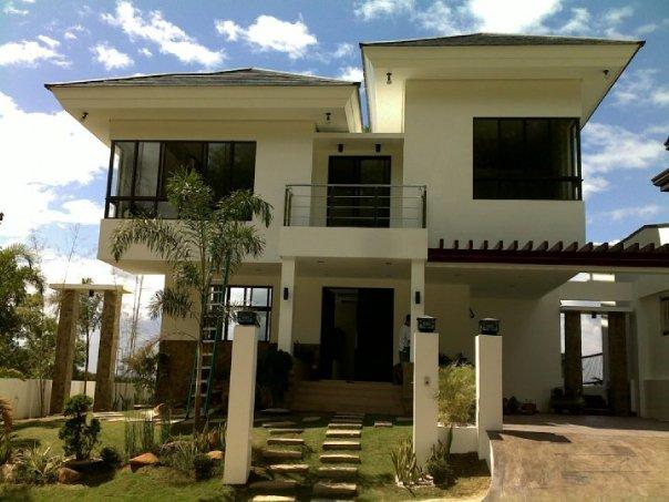 Beautiful Modern Asian House Exterior DesignsArchitecture my love simple house exterior design