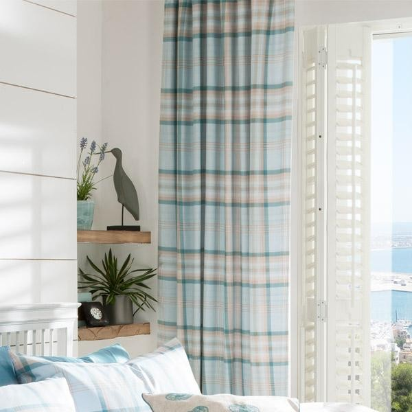 Simple kelso-tartan-curtain-duckegg-0.jpg duck egg tartan curtains