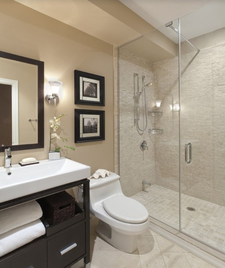 Ways for small bathroom designs