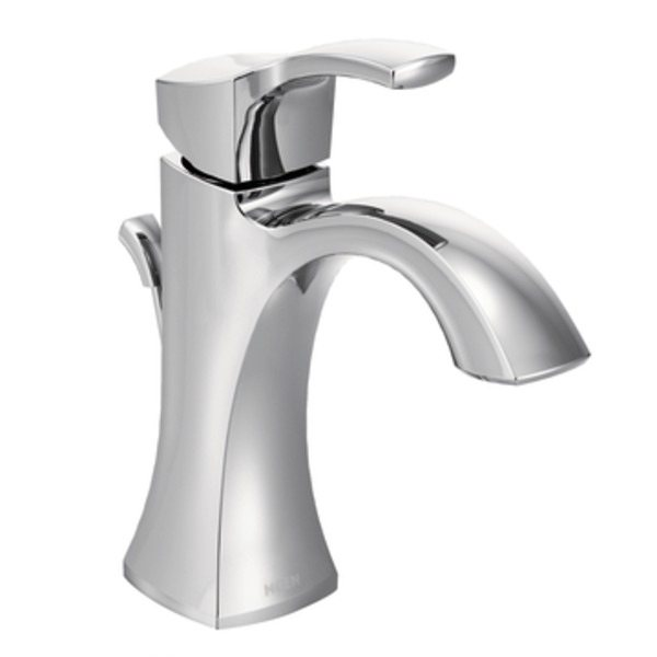 Luxury The Voss single-handle bathroom faucet in chrome (view larger). single handle bathroom faucet