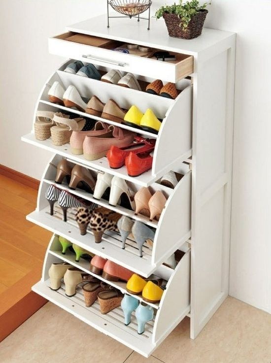 Elegant 12 Inventive Ways to Organize Your Shoes small closet shoe storage