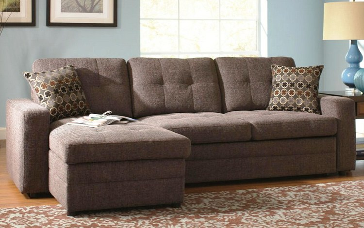 Compact Grey Small Sectional Sleeper Sofa small sectional sleeper sofa