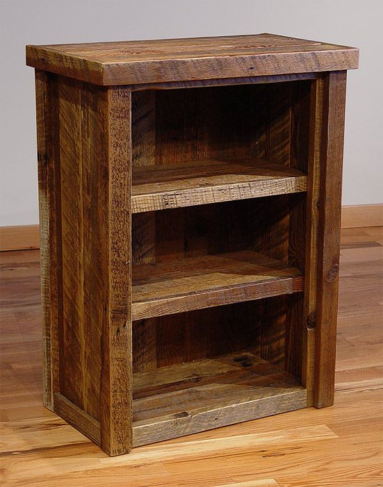 Best Bookcase | Misty Mountain Custom Handmade Furniture Sandpoint Idaho small wooden bookshelf