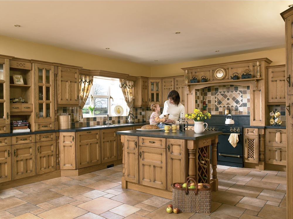 Amazing Hampton Ivory Solid Wood Kitchens solid oak kitchens