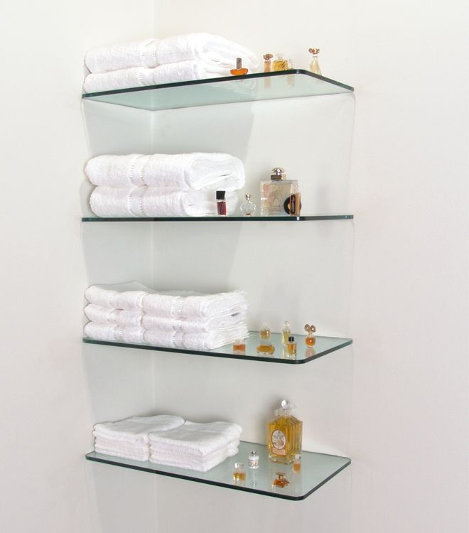 Stunning 100 Floating Shelves Perfect For Storing Your Belongings glass shelving for bathroom
