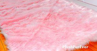 Stunning 24 pink fluffy carpet