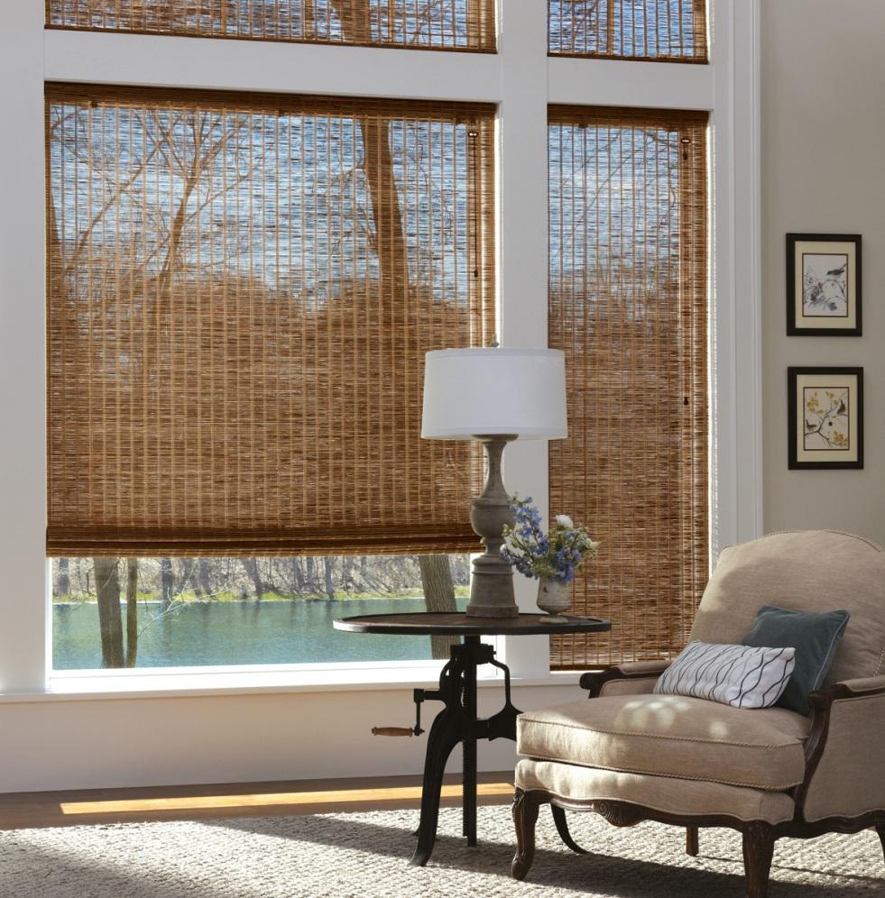 Stunning Bamboo Window Shade Design window shade design
