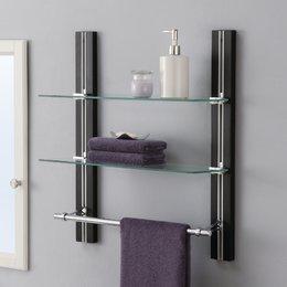 Stunning Bathroom Wall Shelves bathroom wall storage