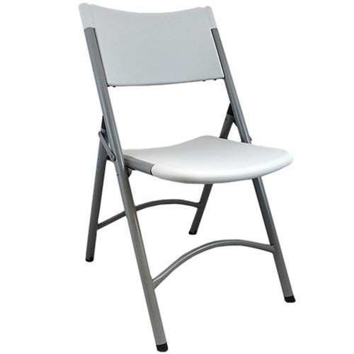 Stunning Blow Mold Plastic Folding Chairs - Grey Granite for sale at Advantage plastic folding chairs