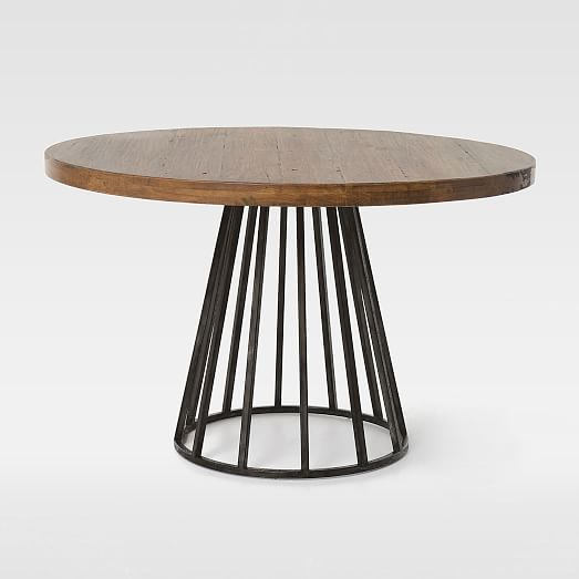 Stunning ... Copenhagen Reclaimed Wood Round Dining Table. View Larger. Roll Over reclaimed wood round dining table