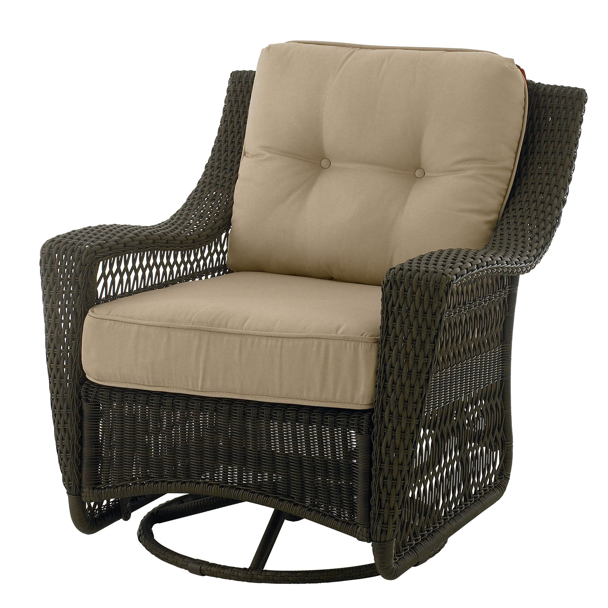 Stunning Country Living Concord Swivel Glider Patio Chair swivel glider patio chairs
