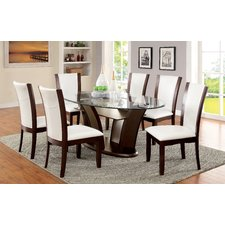 Stunning Cushing Dining Table round glass dining room sets