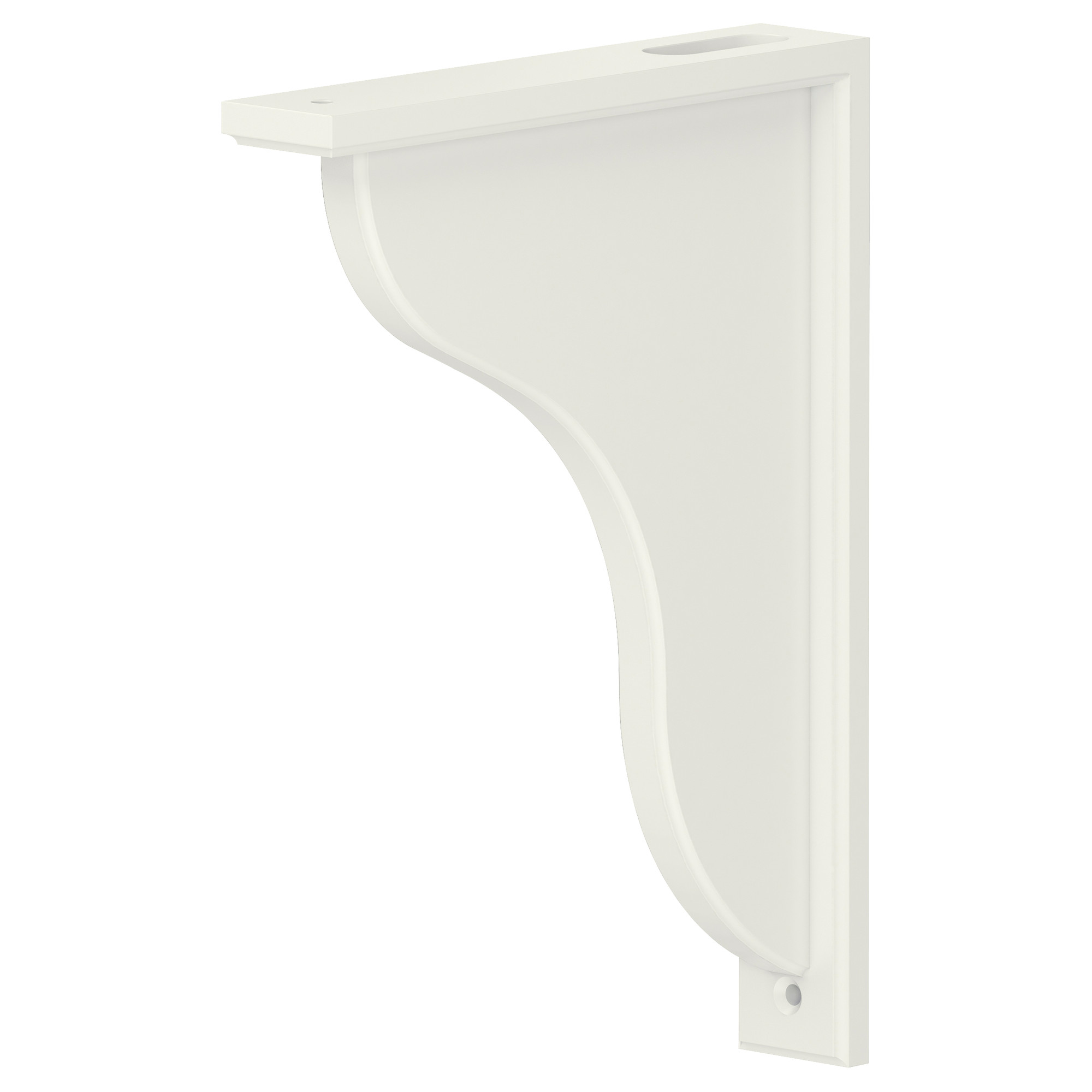 Stunning EKBY HENSVIK Bracket - IKEA white wall shelves with brackets