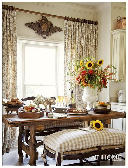 Stunning French Country Curtains french country curtains