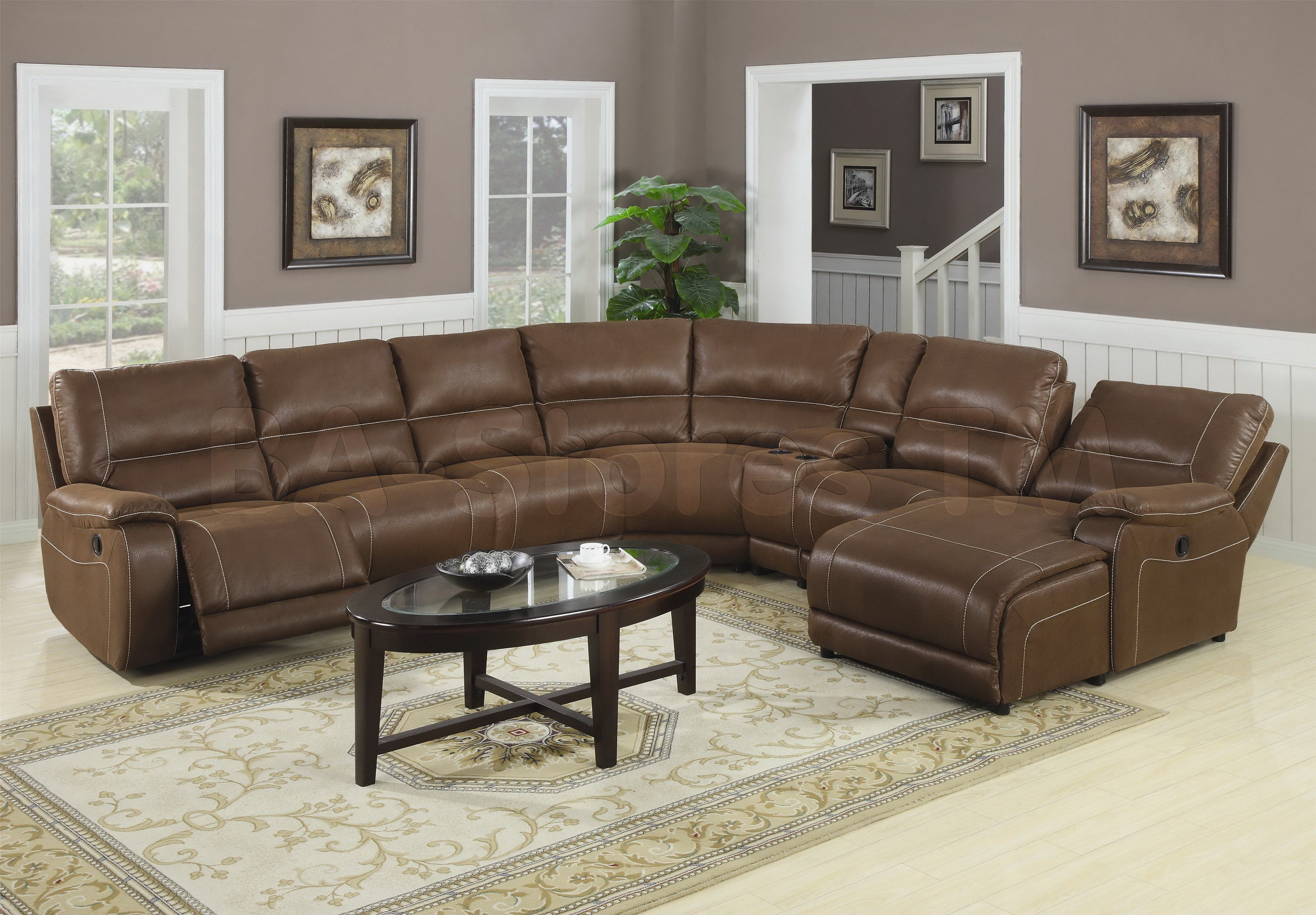 Stunning Furniture Amazing Leather Reclining Sectional Sofa Design For Large Sofas  With extra large sectional sofas with chaise