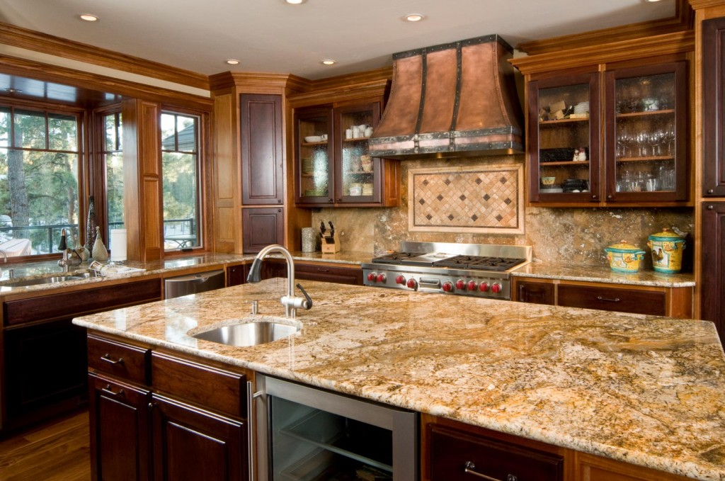 Stunning granite kitchen countertops oregon granite kitchen counters pictures