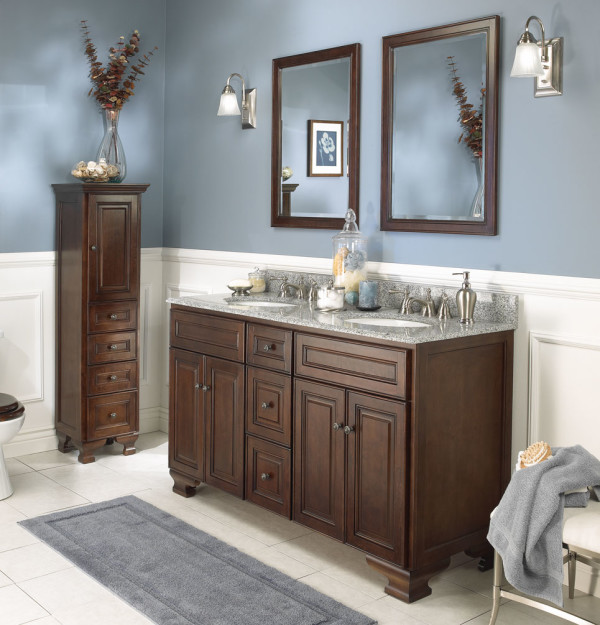 Stunning ideas witching french country style bathroom vanities with a pair of framed french country style bathroom vanities
