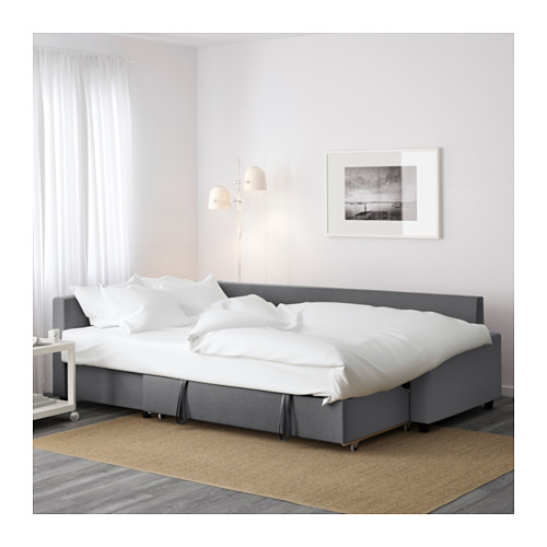 Stunning ... IKEA FRIHETEN corner sofa-bed with storage Sofa, chaise longue and  double corner sofa bed with storage