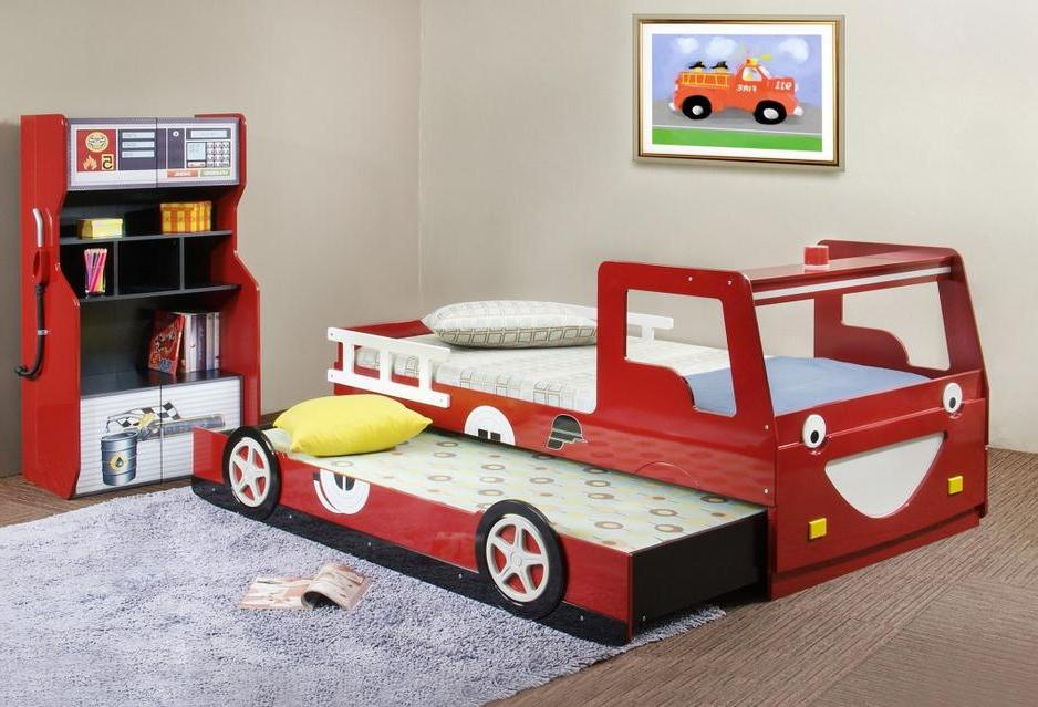 Stunning Image of: Unique Toddler Beds for Boys Theme unique toddler beds for boys