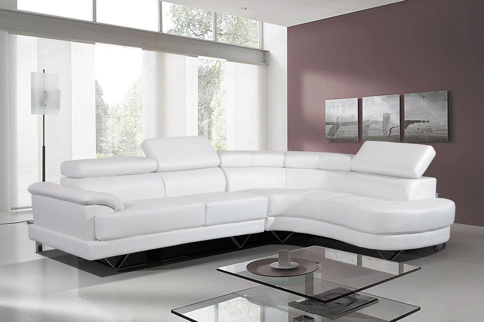 Stunning Leather Corner Sofa White ... white leather corner sofa