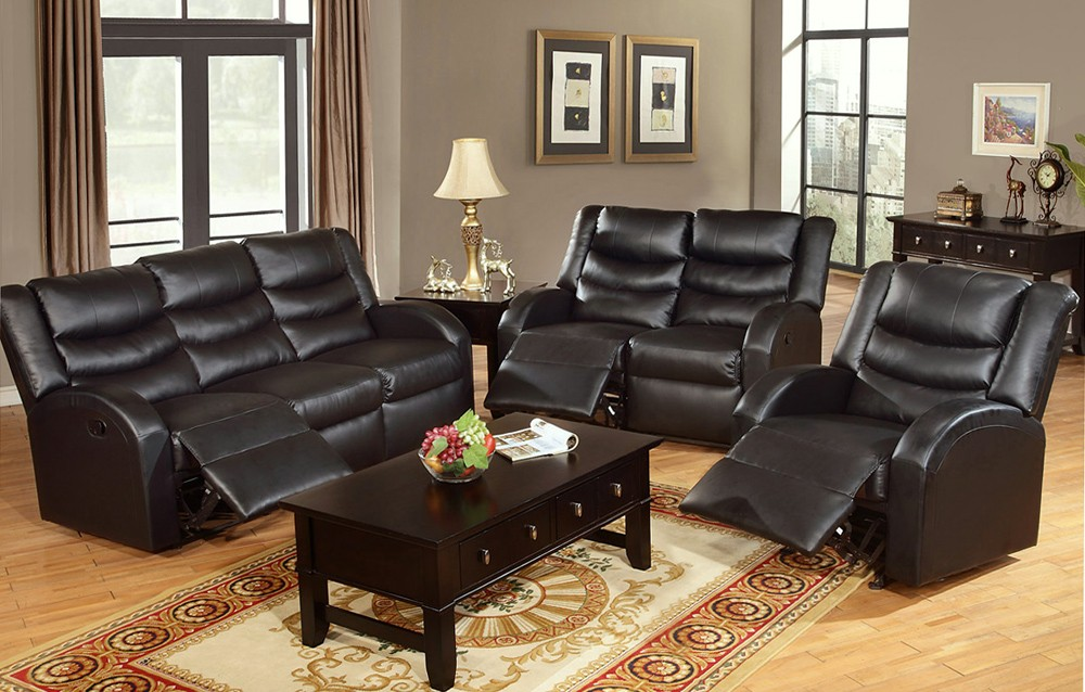 Get to Enjoy the reclining leather sofa in comfort and style