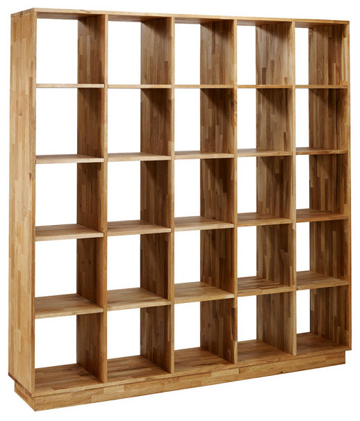 Stunning Mash Lax Solid Wood Large Modern Bookshelf modern-bookcases large wooden bookshelf