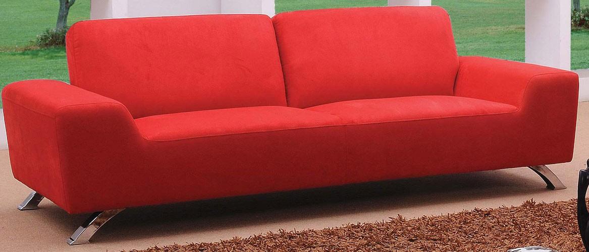 Stunning More Views Red Sofa Set