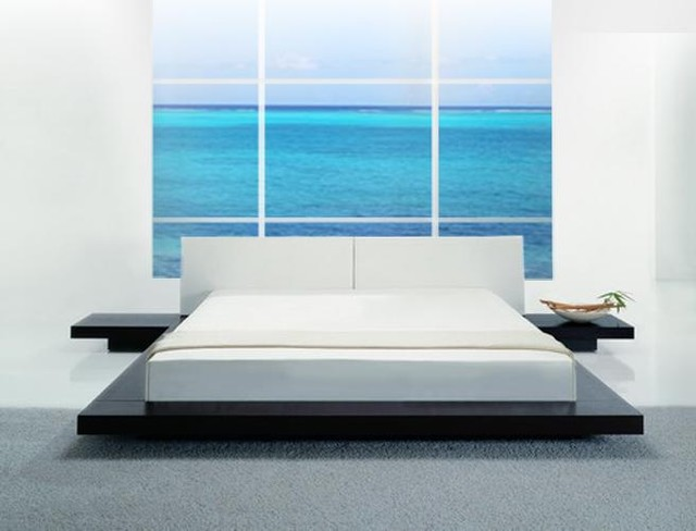 Stunning Opal - Low Profile Platform Bed contemporary-bedroom low profile platform bed