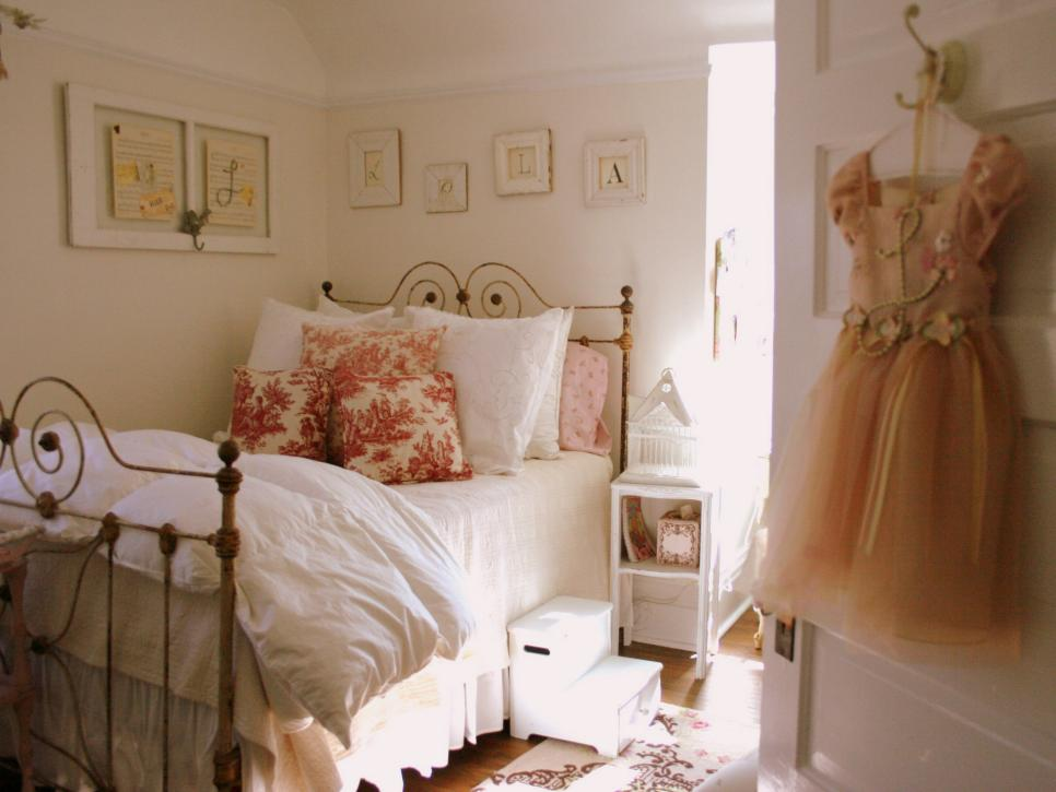 Stunning Shabby Chic Childrenu0027s Rooms | HGTV shabby chic girls bedroom