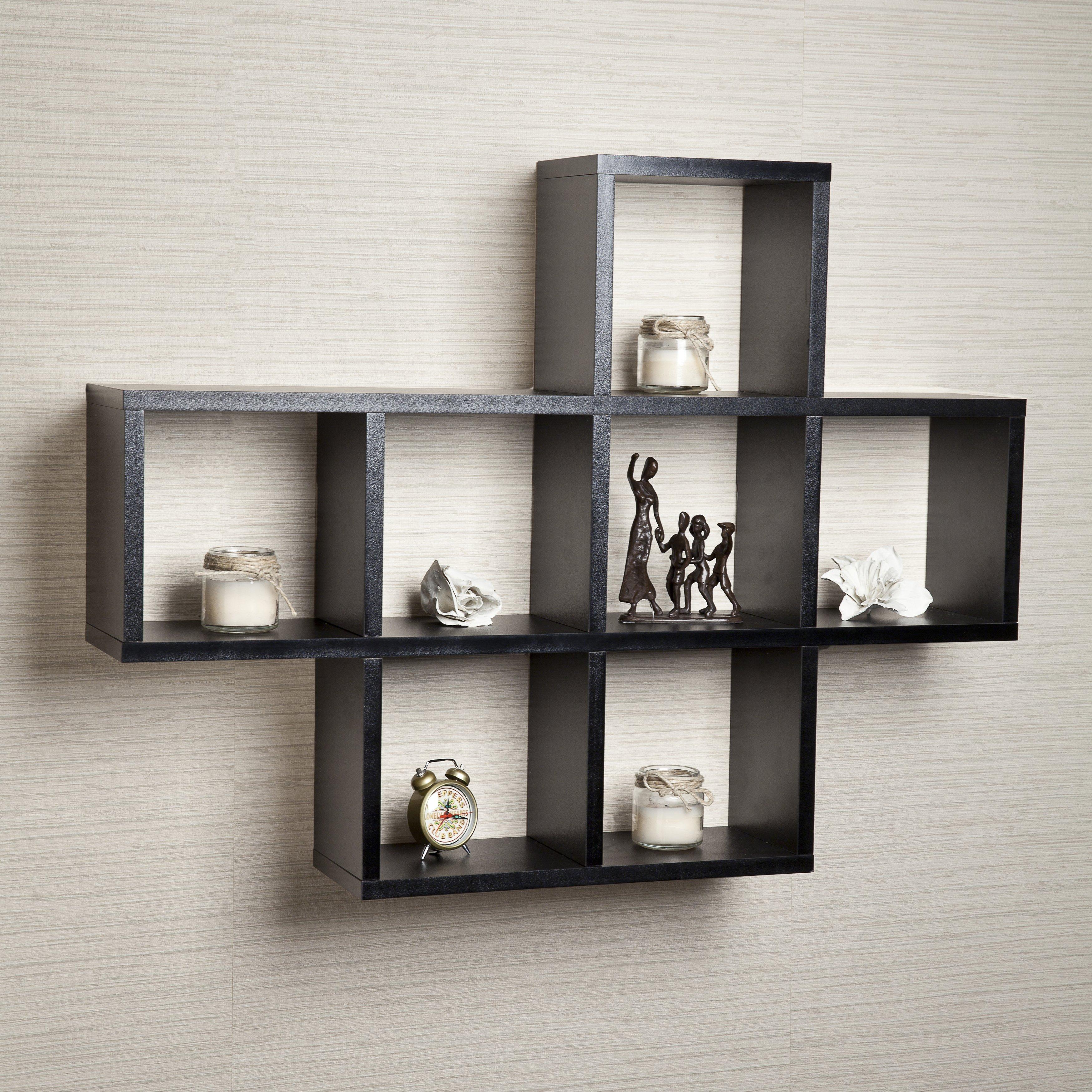 Stunning Wall u0026 Display Shelves Youu0027ll Love | Wayfair wall shelving units