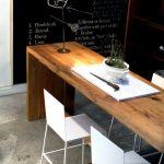 Narrow dining table- useful and classy