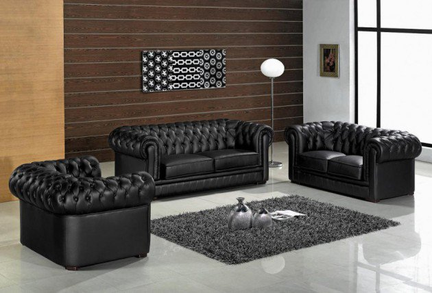 Stylish 15 Classy Leather Sofa Set Designs leather sofa designs