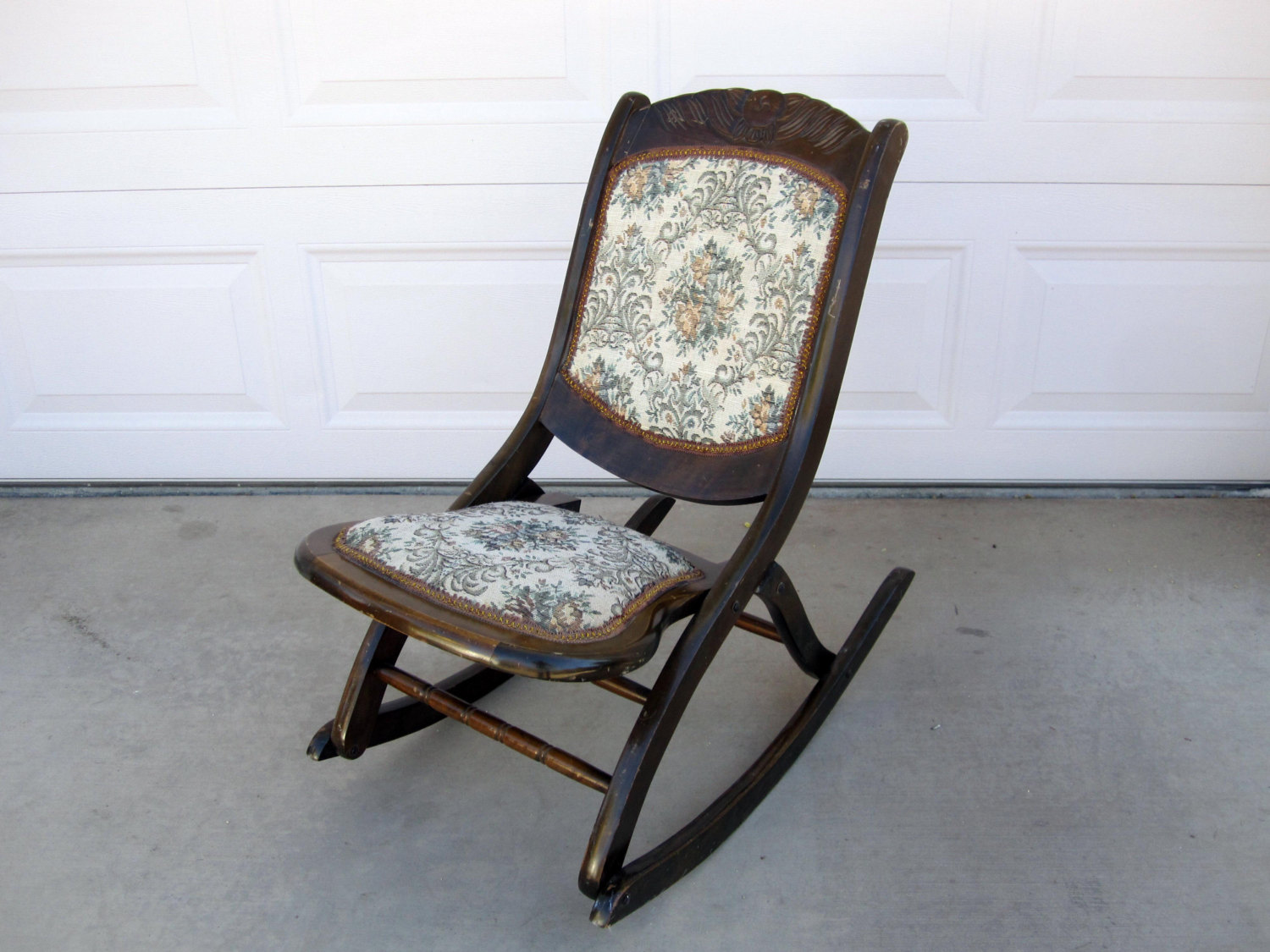 Stylish Alfa img - Showing u003e Antique Folding Rocking Chair Value folding rocking chair