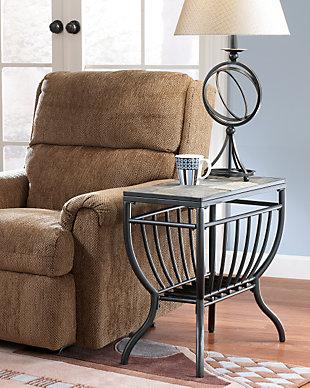 Stylish Antigo Chairside End Table living room end tables