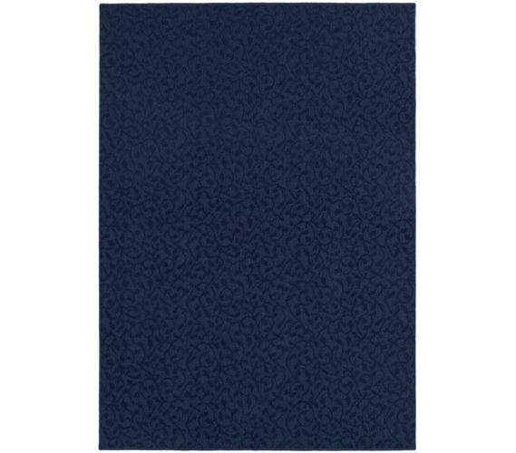 Stylish College Ivy Rug - Navy Blue navy blue rug