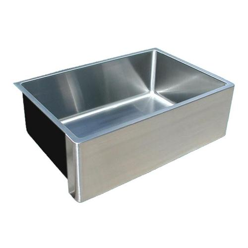 Stylish Country Kitchen u0026 Bar Sink from Handcrafted Metal, Model: Farmhouse Sink custom stainless steel sinks
