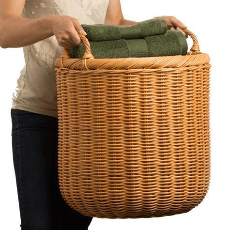 Stylish Extra Large Round Wicker Storage Basket large wicker storage baskets