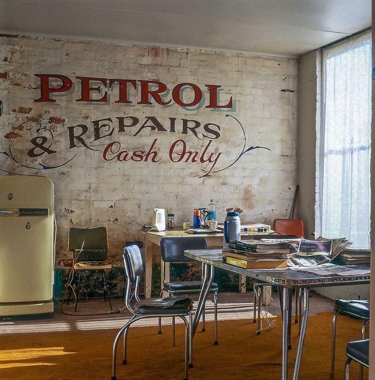Stylish Home Decor Ideas With Typography | Vintage Ghost Signs and Advertising | vintage industrial home decor