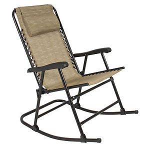 Stylish Image is loading Folding-Rocking-Chair-Foldable-Rocker -Outdoor-Patio-Furniture- folding rocking chair