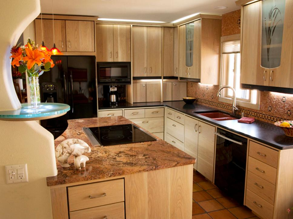Stylish Inspired Examples of Granite Kitchen Countertops 22 Photos granite kitchen counters pictures