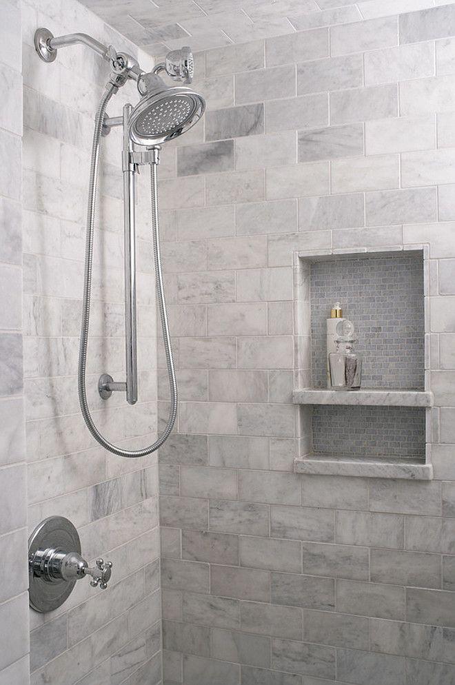 Stylish Interior Design Ideas. Marble Subway TilesShower SurroundTransitional BathroomDesign  BathroomSmall ... bathroom tile design ideas for small bathrooms