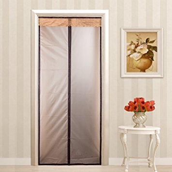 Stylish Magnetic Thermal Insulated Door Curtain Enjoy Your Cool Summer And Warm  Winter thermal door curtain