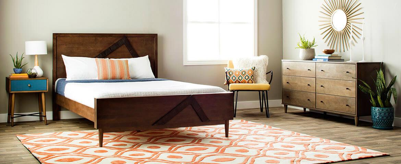 Stylish Mid-Century Modern Bedroom Ideas mid century modern bedroom furniture