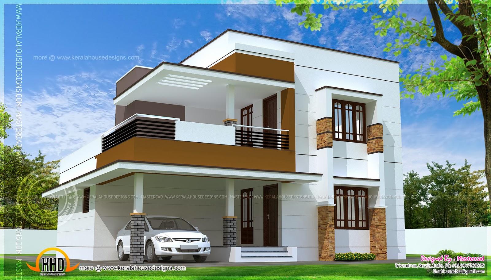 Stylish Modern House Plans erven 500sq m | Simple modern home design in 1817 simple home design