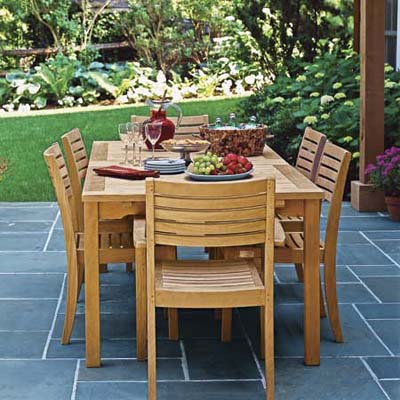 Stylish Patio Fire Pit On Outdoor Patio Furniture For New Wood Patio Dining wood patio dining sets