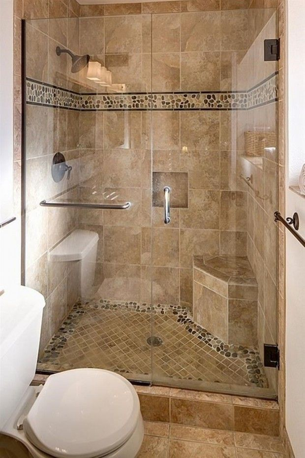 Stylish Shower Stalls For Small Bathroom With Seat ... bathroom ideas for small bathrooms